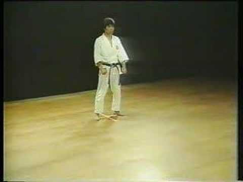 Heian Godan. Shotokan Karate. Hirozaku Kanazawa. By working through this series (in order: Shodan, Nidan, Sandan, Yondan, Godan (except in Wado Ryu Karate, where Shodan and Nidan are reversed)) the practitioner learns all the basic stances and techniques before moving on to more advanced kata.