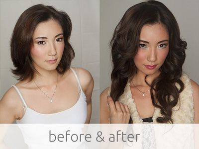 Large set of #clipin #extensions from http://www.pacifichair.ca/collections for serious volume/length.