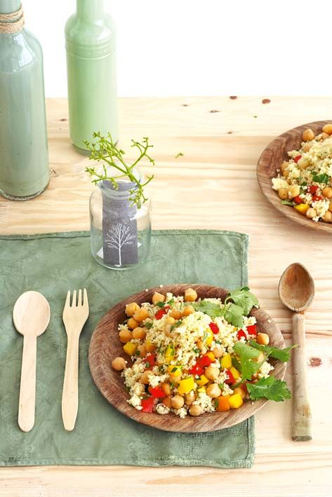 Couscous with chickpeas
