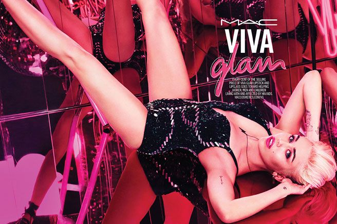 MAC Vivaglam Miley Cyrus Collaboration - Miley Cyrus for MAC - Elle