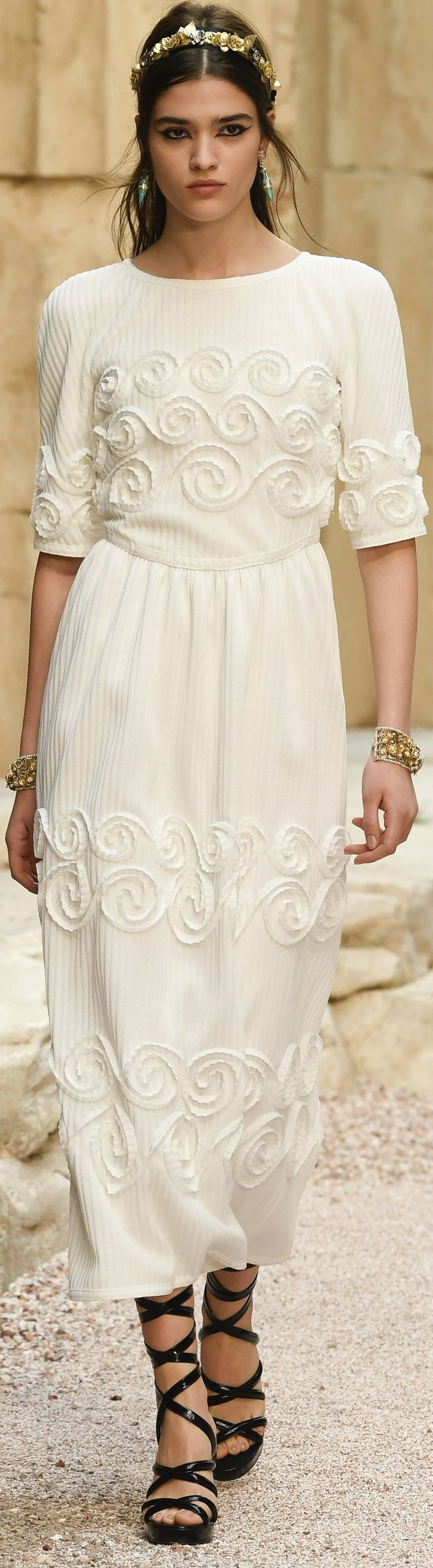 Chanel Cruise 2018. Admired by FalconFabrics.com.au