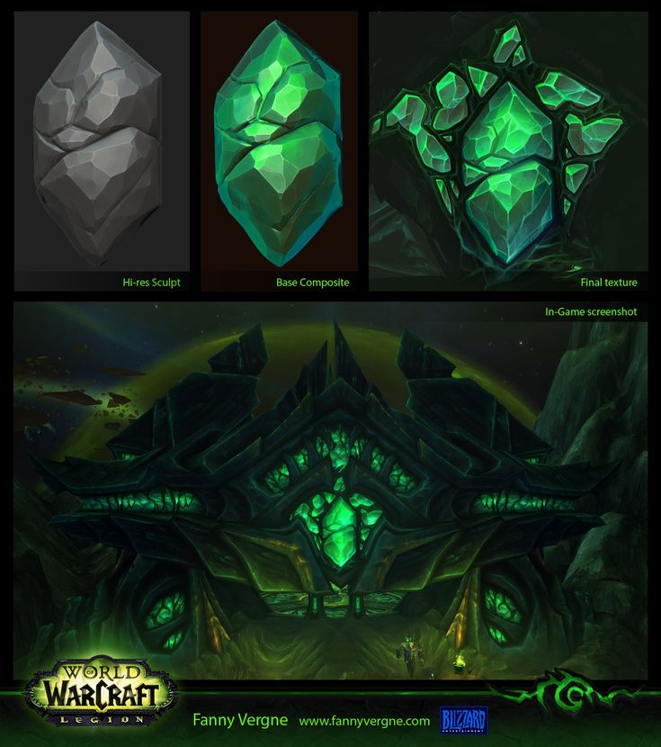 Hello ! I wanted to share with you the work that I did for Legion I had…