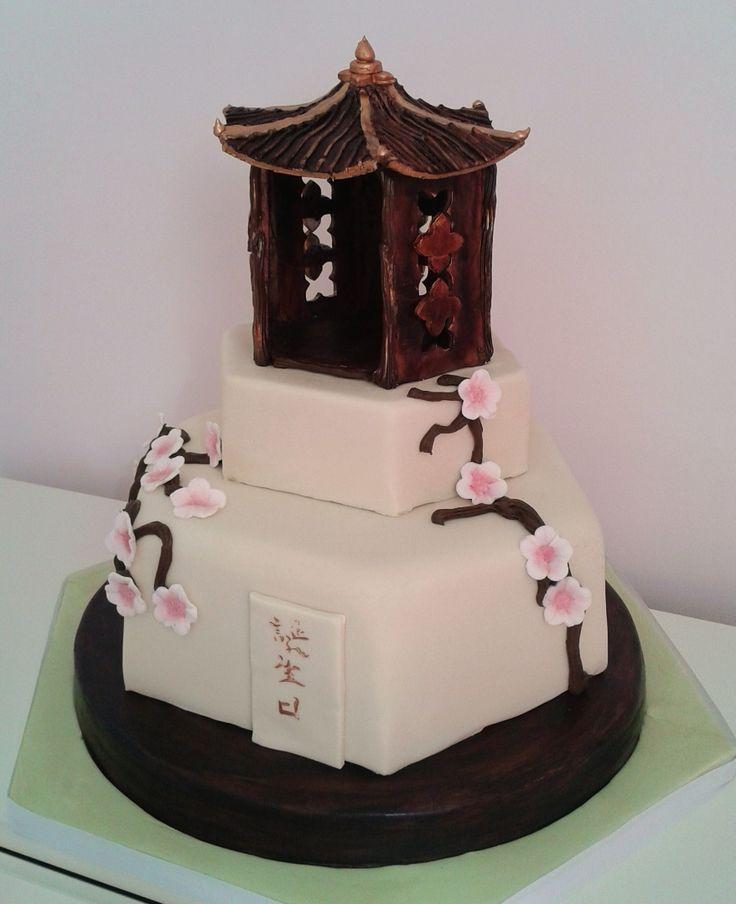 Pinterest Chinese Pagoda Cake