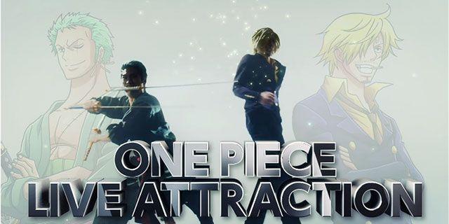 One Piece Live Attraction 3 Phantom - Il promo e il nuovo personaggio ideato da Eiichiro Oda - Sw Tweens