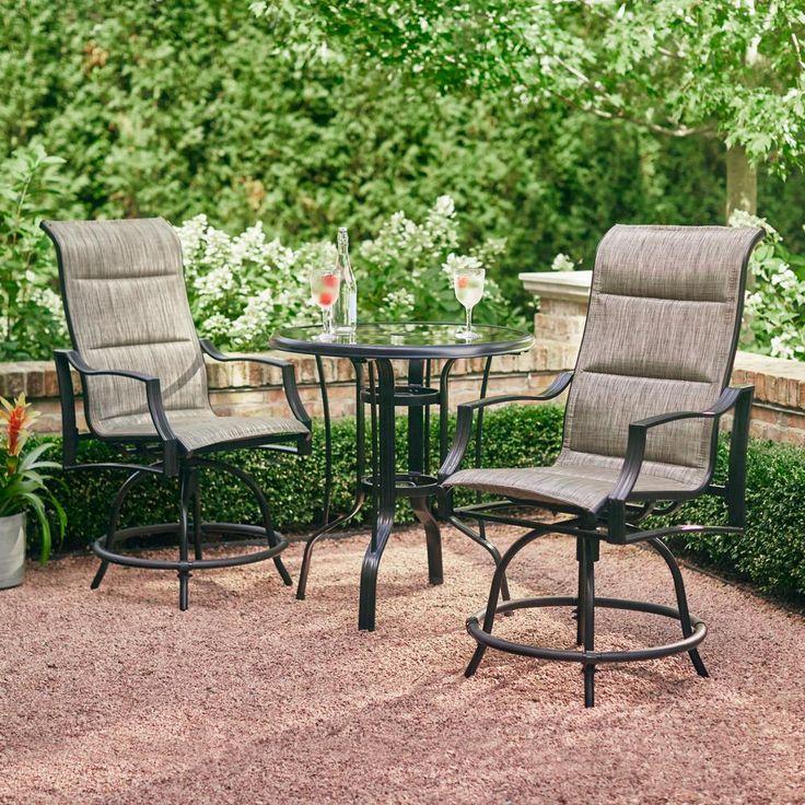 Hampton Bay Statesville Pewter 5 Piece Aluminum Outdoor: Best 25+ Hampton Bay Patio Furniture Ideas On Pinterest