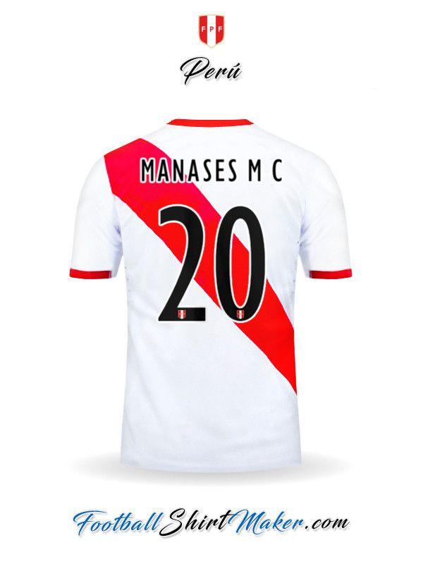 3bdf477805d Camiseta Peru 2015/2016 Manases m c 20 | botin Luigi | Crear ...