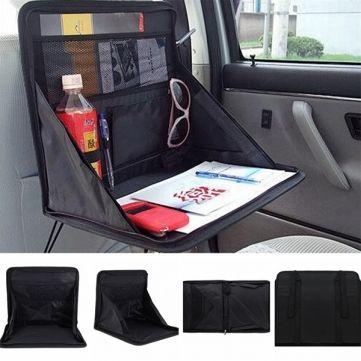 Portable Car Laptop Holder Tray Notebook Food Work Seat Mount Desk Organizer