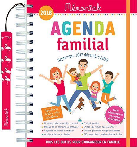 Agenda familial Mémoniak 2017-2018 #Agenda #familial #Mémoniak