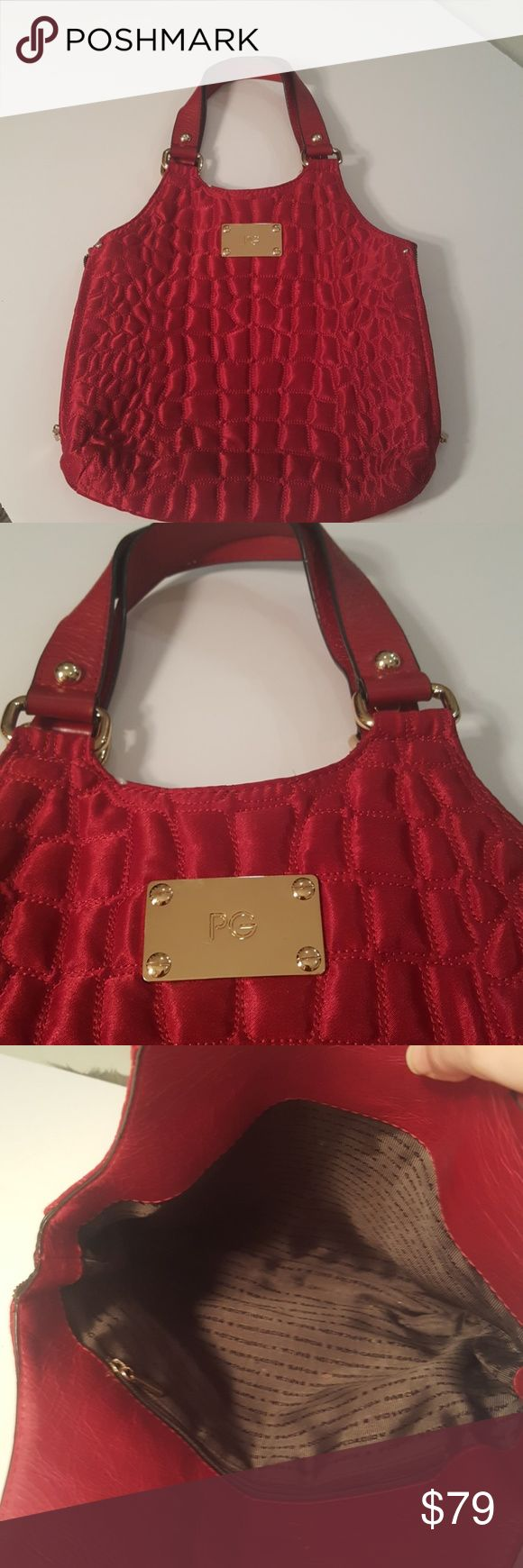 Purificacion Garcia purse Purificacion Garcia quilted res purse. !!BEAUTIFUL.. the perfect red bag!!. Purificacion Garcia Bags Satchels