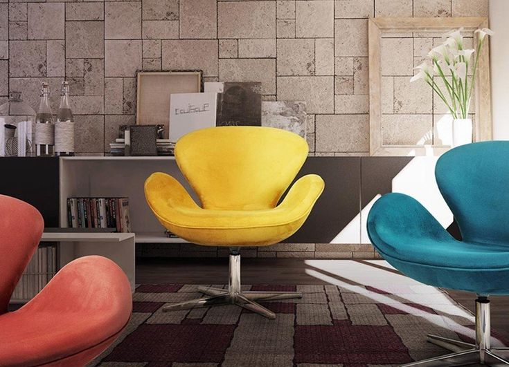 Arne Jacobsen   Poltrona Swan