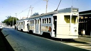 Brisbane trams 1966-1969 when they stopped.  I miss them.