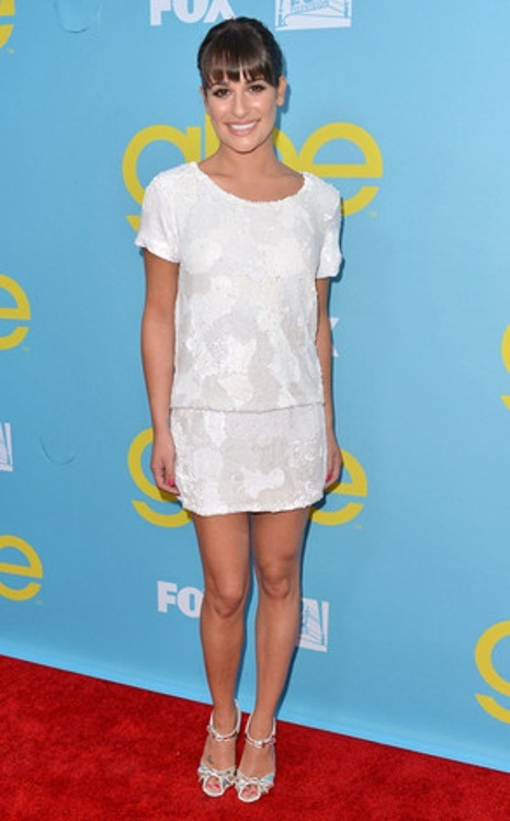 Lea Michele, YES keep this stylist, very simple, original and age appropriate