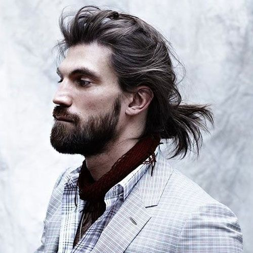 2018 Men S Hair Trend Movenment And Flow: 173 Best Long Hairstyles For Men Images On Pinterest