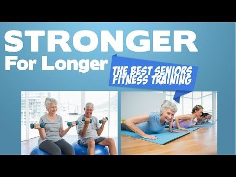 Seniors Fitness Class - Learn How To Prevent Falls & Improve Strength For Life - YouTube