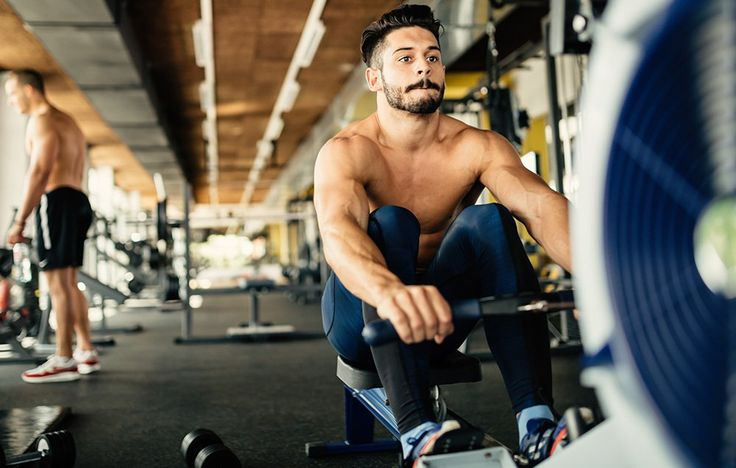 ​Combine rowing intervals with strength training to transform your body