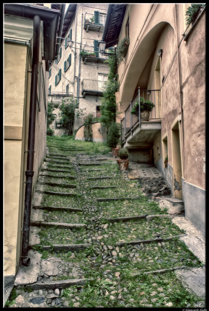 Narrow road by Giancarlo Gallo
