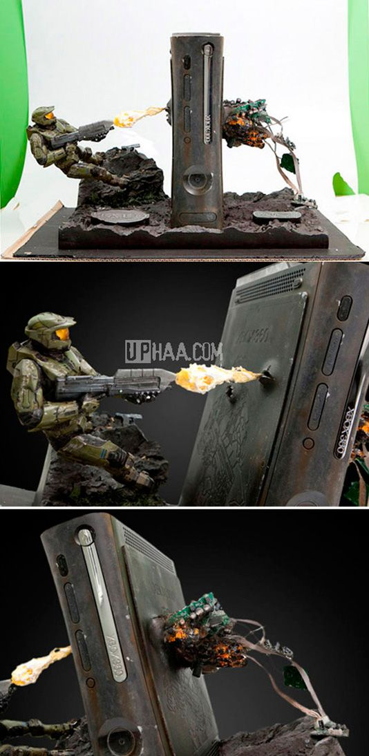 I need this in my life like yesterday! Halo 360 mod!