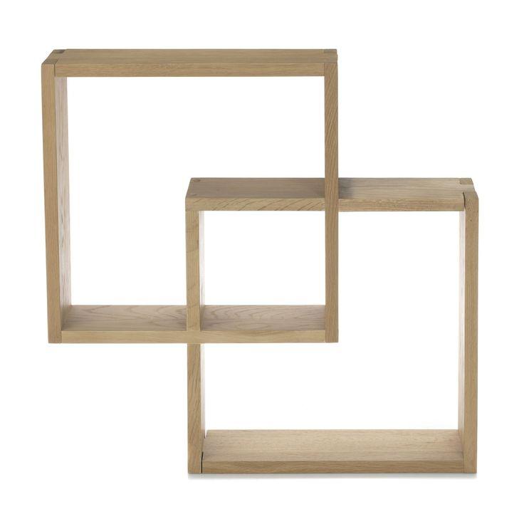 Best 25 etagere cube ideas on pinterest - Etagere murale en chene ...