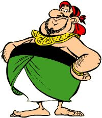 Asterix - The A to Z of Asterix - Characters - Ekonomikrisis