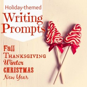 This is the place to get your fall, Thanksgiving, winter, Christmas, and New Year writing prompts for all of your middle school and high school students!