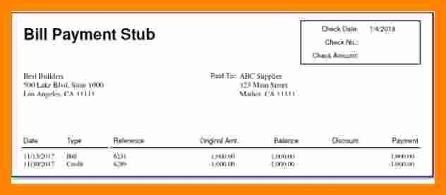 Independent Contractor Pay Stub Template Inspirational 7 ...