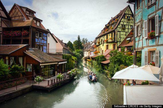 """Colmar, França Qualquer cidade - especialmente uma que se pareça com isso - e que é considerada a """"capital do vinho"""" é bem recebida por nós."""