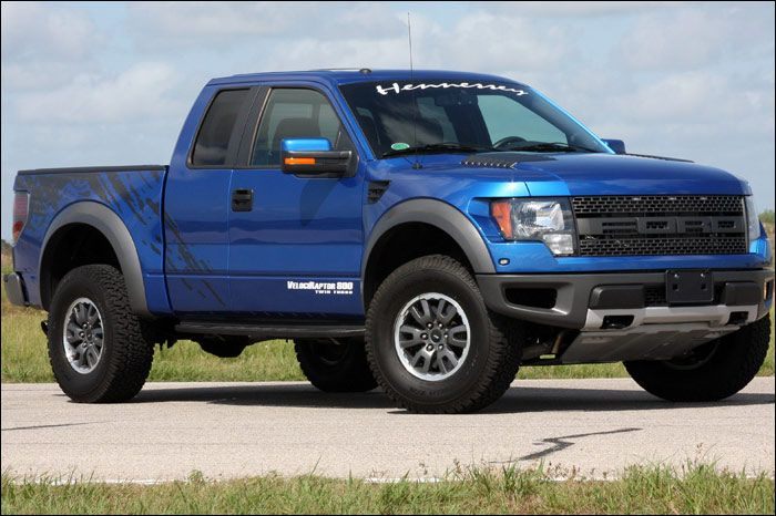 blue 2012 ford raptor