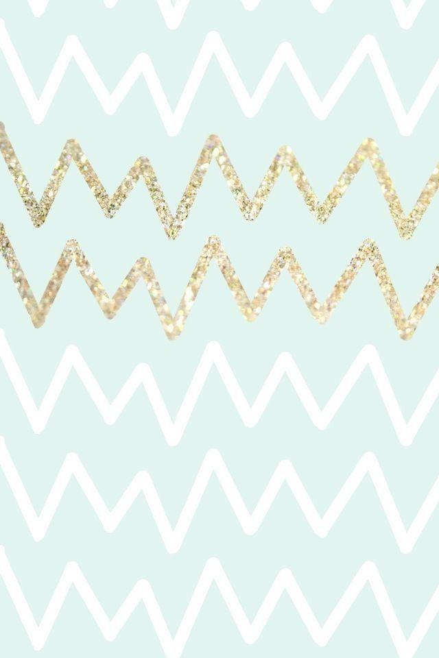 glitter chevron pattern wallpaper - photo #6