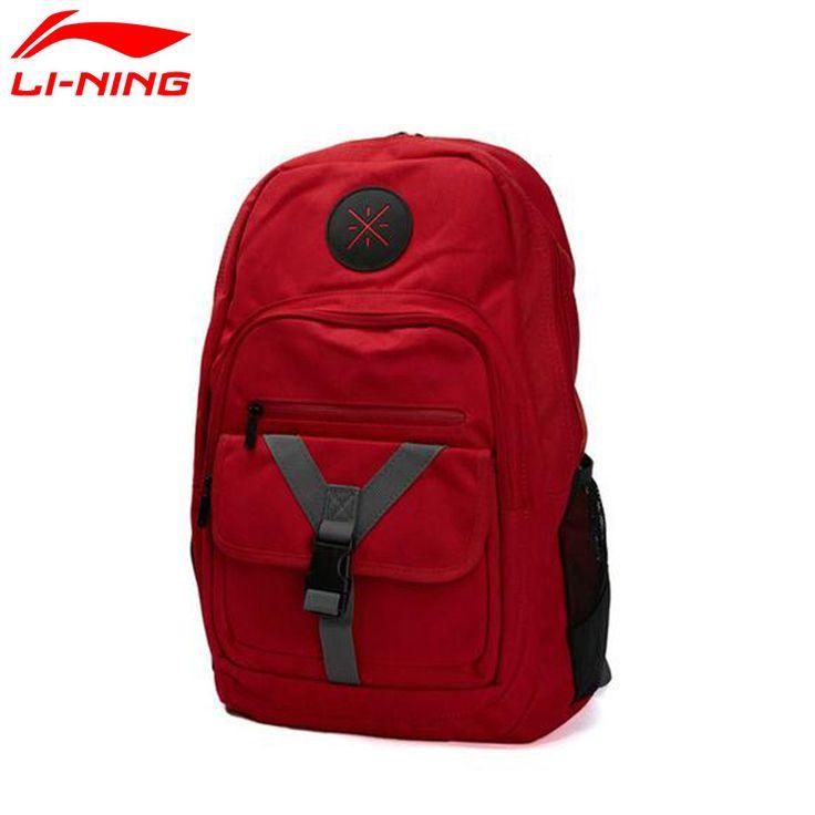 Li-Ning Wade Series Multifunctional Backpack for Men and Women Travel Fitness Sport Gym Bags Rain Cover Running mochila feminina