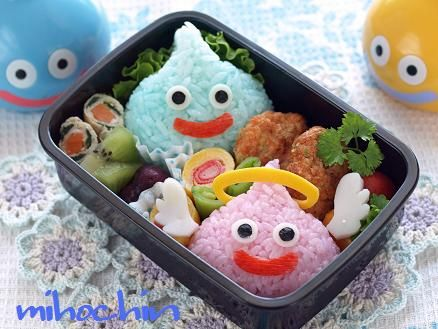 Slime Bento from Dragon Quest