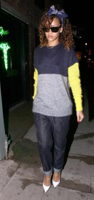 Rihanna in a Joseph jumper | RiRi