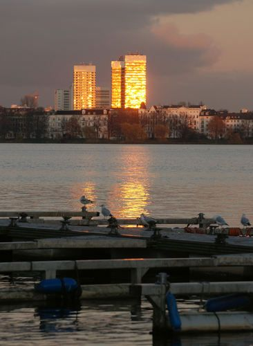 Mundsburg Türme, Hamburg
