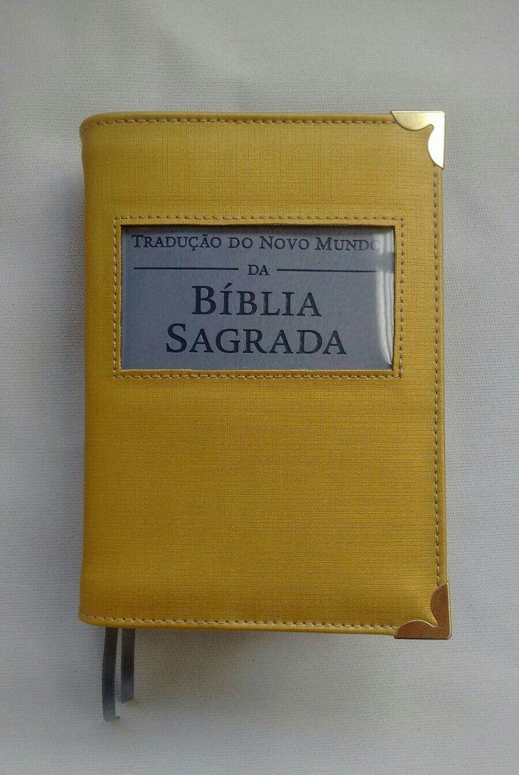 Capa Bíblia dourada