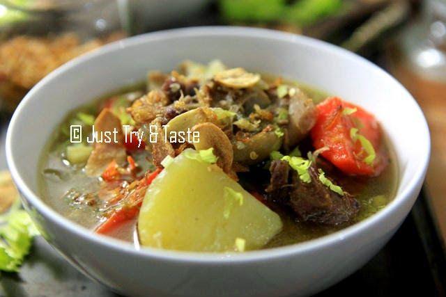 Just Try & Taste: Sup Buntut Super Nendang!