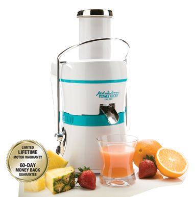 Can't wait to try my juicer!!!!  Jack LaLanne's Power Juicer™ | Free Shipping! Exclusive New Model