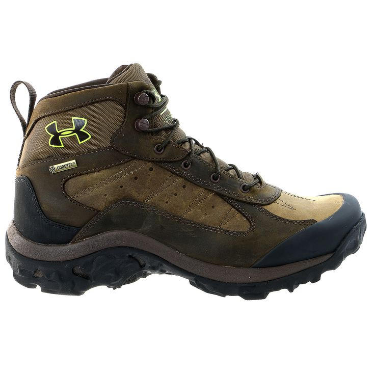 Under Armour Wall Hanger Leather Mid Hiking Boot Mens