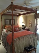 Harden Queen Size Canopy Bed