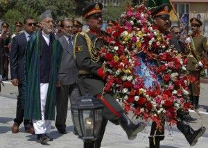 AFGHAN officials' have marked the country's 94th independence day from Britain with a small military parade and folk festivals in the capital. President Hamid Karzai and cabinet members attended a parade on Monday to mark the event, which commemorates the day Afghanistan signed a treaty with Britain in 1919 making it independent. US secretary of […]