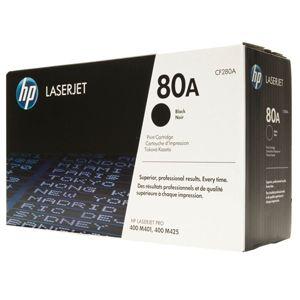 HP Toner Cartridge – Black; 80A