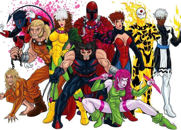 X-Men: Age Of Apocalypse by Kaufee@deviantART
