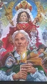 Pintura de artista puneño Lucas Pinazo, es elegido para afiche oficial de la Festividad Virgen de la Cancelaria. | Radio Onda Azul » Noticias Puno Perú