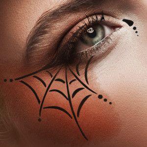 European Body Art - Airbrush Makeup Stencils