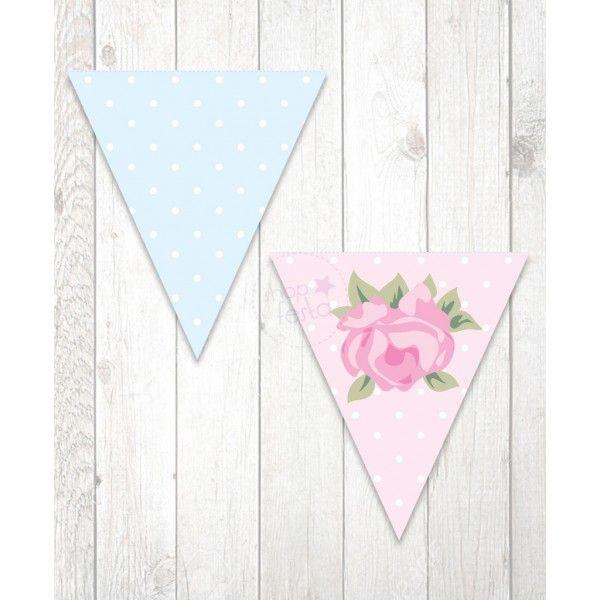 Bandeirolas Coisas de Menina