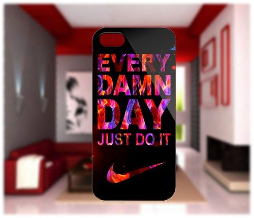 Nike Just Do It Fire Case For iPhone 4/4S iPhone 5 Galaxy S2/S3/S4 | GlobalMarket - Accessories on ArtFire