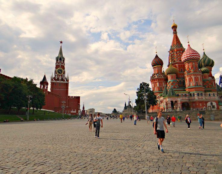 Vörös tér és a Kreml - Красная Площадь.