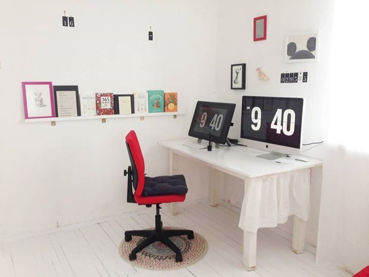 Koidanov's working space