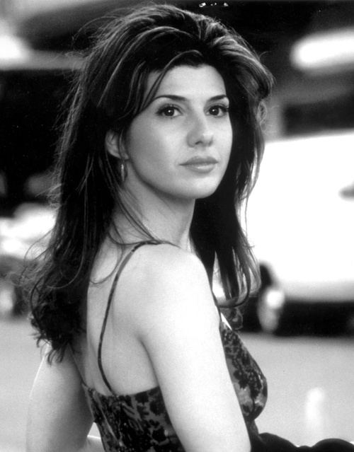 Marissa Tomei. You can't take the city out of the girl. Brooklyn