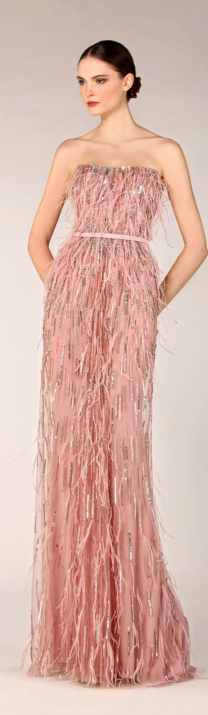 331 best Vestidos elegantes. images on Pinterest   Elegant dresses ...