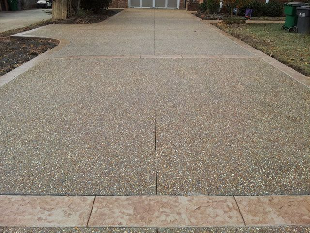 how to build a concrete driveway ramp