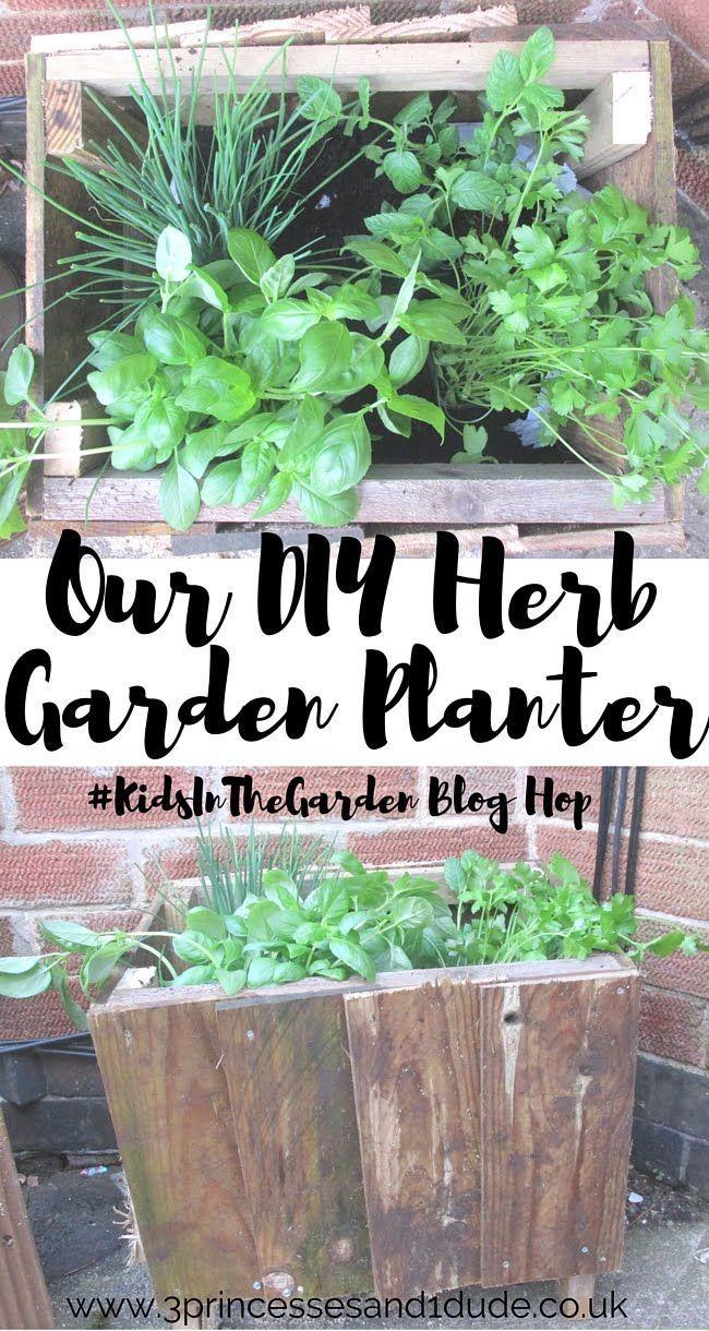 3 Princesses and 1 Dude! KidsInTheGarden Our (DIY) Herb